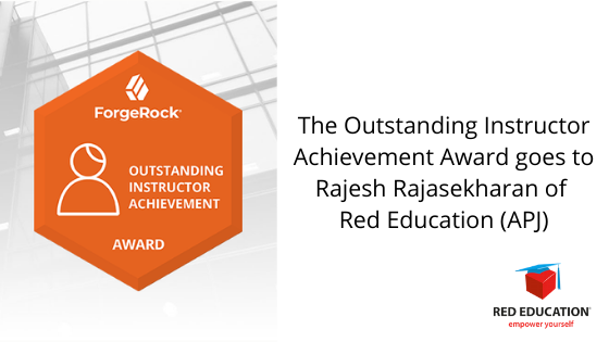 Forgerock Instructor Award