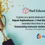 The Global Outstanding Instructor Achievement Award by ForgeRock – Rajesh Rajasekharan of Red Education