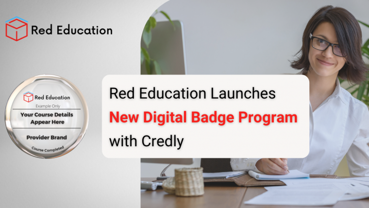 Red Education Launches New Digital Badge Program with Credly