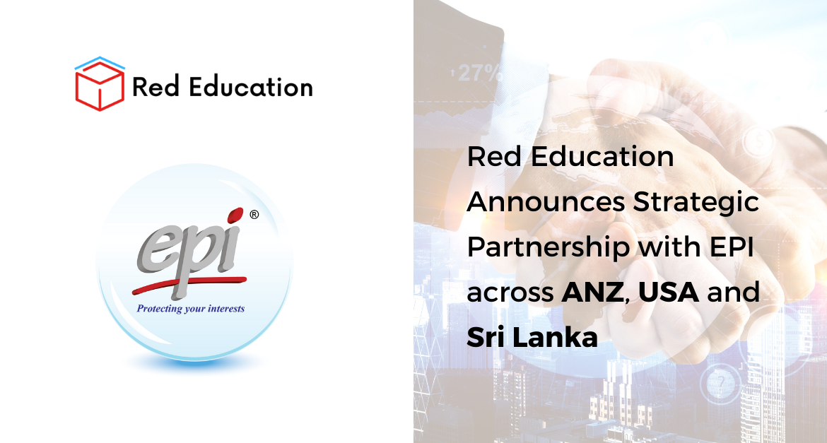 Red Education Announces Strategic Partnership with EPI to promote and deliver EPI Data Center Training Services across ANZ, USA and Sri Lanka